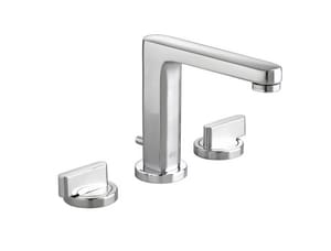 American Standard Moments™ Double Lever Handle Widespread Lavatory Faucet in Polished Chrome A2506821002