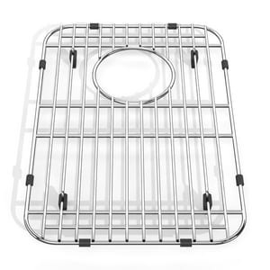 American Standard Prevoir™ 10-1/8 x 15 in. Stainless Steel Bottom Grid Sink Rack A8445101500075