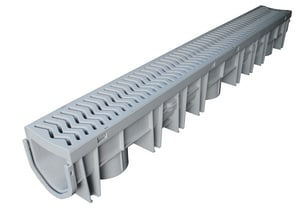 Fernco Storm Drain Plus End Cap Grey FFSDPEC