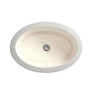 DXV Pop™ No-Hole Under-Counter Oval Lavatory Sink DD20045000