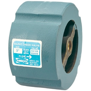 200 psi Cast Iron Wafer Silent Check Valve NW910B