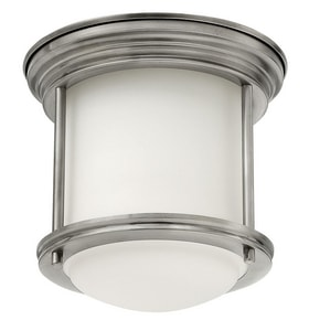 Hinkley Lighting 1-Light Ceiling Light Fixture with Etched Opal Glass H3300