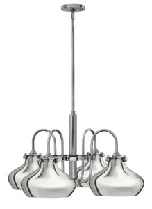 Hinkley Lighting 100W 4-Light Medium Chandelier in Polished Chrome H3048CM