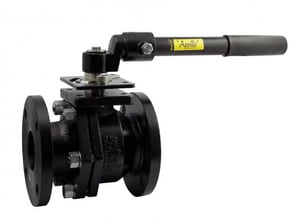 Apollo Conbraco 6PLF Series Flanged Cast Iron Full Port Ball Valve with Gear Operator A6PLF2001