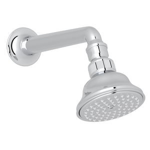 Rohl 3-1/16 in. Anti-Cal Showerhead with 7-1/8 in. Shower Arm RC5504E