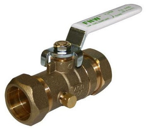 400 WOG Compression Brass Ball Valve FNWX480A