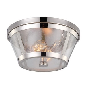 Murray Feiss Industries 2-Light 60W Flushmount Ceiling Fixture MFM393