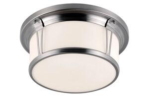 Murray Feiss Industries Woodward 3-Light 75W Flushmount Ceiling Light MFM389