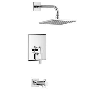 American Standard Times Square® 2.5 gpm Bath and Shower Trim Kit with Single Lever Handle AT184502