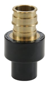 Uponor North America ProPEX® Brass PEX x CPVC Spigot Adapter UCP450