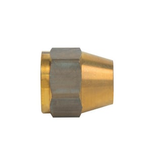 Brass Craft OD Tube x OD Flare Brass 45 Degree Nut B41S