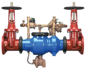 Wilkins Regulator 375ADA Epoxy Coated Ductile Iron Flanged 175 psi Backflow Preventer W375ADALF