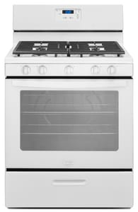 Whirlpool 15A 5-Burner Natural Gas Freestanding Range WWFG505M0B