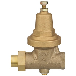 Wilkins Regulator Sweat Union Pressure Reducing Valve with Port W70XLCP