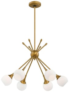 George Kovacs 24 in. 6-Light Chandelier KP1806