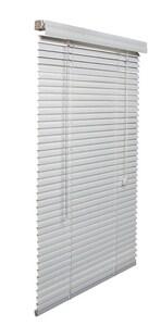 Lotus & Windoware 1 in. Aluminum Mini Blind in White LAMWHMINI