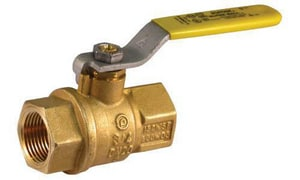 Jomar International 400 WOG 2-Piece Bronze Threaded Full Port Ball Valve J100710