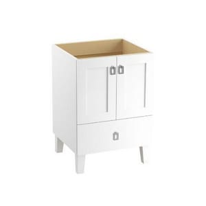 Kohler Poplin® Marabou® 34-1/2 x 24 in. Bathroom Vanity Cabinet with Leg, 2-Door and 1-Drawer K99527-LG