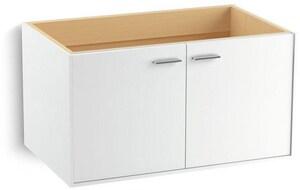 Kohler Jute® 36 in. 2-Door Wall-Hung Bathroom Vanity Cabinet K99542