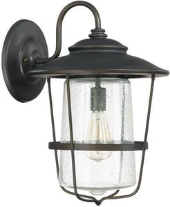 Capital Lighting Fixture Creekside 18-1/2 in. 1-Light Wall Lantern C9603