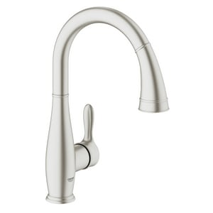Grohe Parkfield™ 1.75 gpm Single Lever Handle Pull-Down Kitchen Faucet G30213