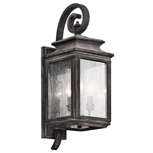 Kichler Lighting Wiscombe Park 3-Light Wall Mount Sconce KK49502