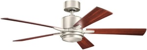 Kichler Lighting Lucien 52 in. 50W 5-Blade Ceiling Fan with Light Kit KK300176