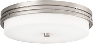 Kichler Lighting Ceiling Space 14 in. 22W 1-Light Flushmount LED Ceiling Fixture KK42380
