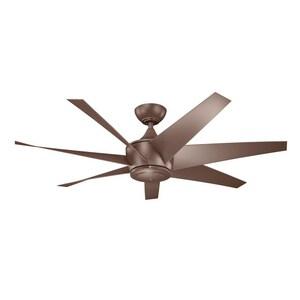 Kichler Lighting 31W 7-Blade Ceiling Fan with 54 in. Blade Span KK310112