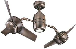Kichler Lighting Yuree Collection 6-Blade Ceiling Fan KK310125