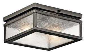 Kichler Lighting Manningham 75W 2-Light Outdoor Ceiling Light KK49389