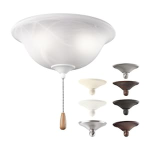 Kichler Lighting 60W 3-Light Fan Light Kit KK33850