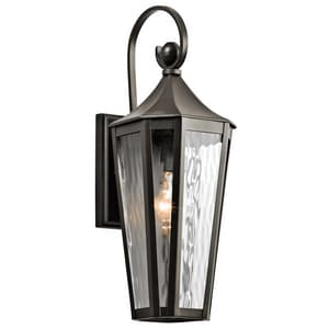 Kichler Lighting Rochdale 100W 1-Light Wall Mount Outdoor Fixture in Olde Bronze KK49512OZ