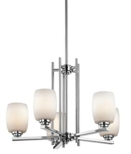 Kichler Lighting 100W 5-Light Medium Incandescent Chandelier KK1896