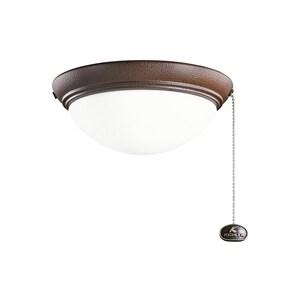 Kichler Lighting 2-Light Ceiling Fan Light Kit KK380120