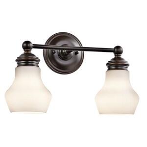 Kichler Lighting Currituck 2-Light Bath Light KK45487
