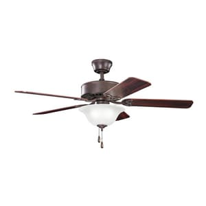 Kichler Lighting Renew Select Collection 60W 5-Blade Ceiling Fan with 50 in. Blade Span and 3-Light KK330110
