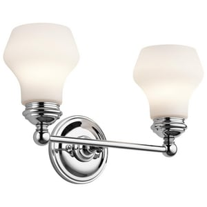 Kichler Lighting Currituck 2-Light Bath Light KK45487