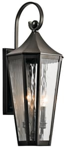 Kichler Lighting Rochdale 60W 2-Light Outdoor Wall Fixture KK49513