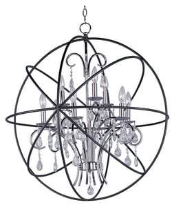 Maxim Lighting International Orbit 33 in. 60W 9-Light Candelabra E-12 Ceiling Mount Pendant M25145