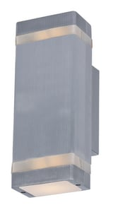 Maxim Lighting International 10W 2-Light LED Outdoor Wall Sconce M86129