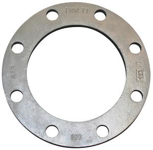 FNW IPS 150# Galvanized Ductile Iron Stub End Back-Up Flange FNW72G