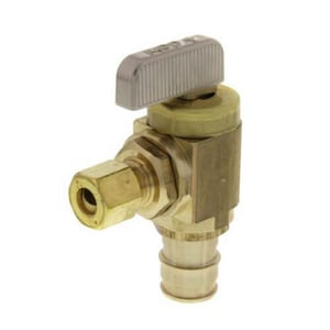 Uponor North America ProPEX® 1/2 x 1/4 in. Icemaker Angle Valve ULF4785025