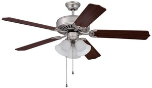 Craftmade International Pro Builder 205 52 in. Ceiling Fan with Light CC205