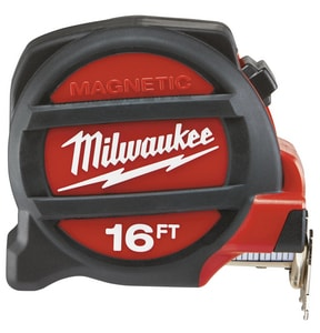 Milwaukee Magnetic Tape Measure in Black and Red M48225116