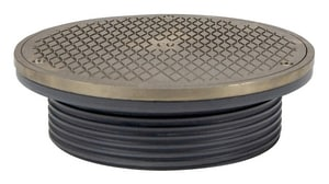Sioux Chief Ductile Iron Round Adjustable Cleanout S8346DHNR