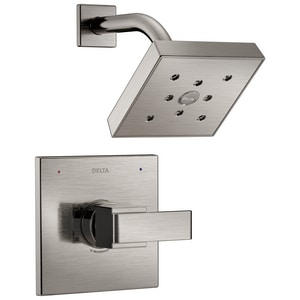 Delta Faucet Ara® 2 gpm Showerhead and Valve Trim (Trim Only) DT14267