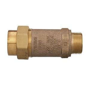Wilkins Regulator 1 in. Union Female Meter x Male Meter Backflow Preventer WUFMX1MM700XLG