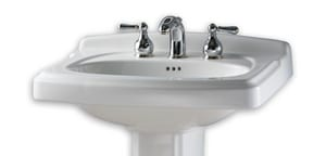 American Standard Portsmouth® 1-Hole Combination Pedestal Sink with Center Drain A0555401