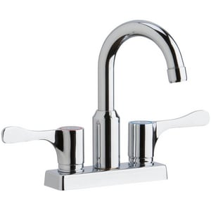 Elkay 2-Hole Deckmount Scrub or Handwash Flexible Spout Entertainment Faucet ELKD24898BHC